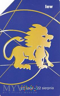 Karta telefoniczna - znak zodiaku lew