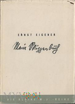 Ernst Eigener-Mein Skitzzenbuch