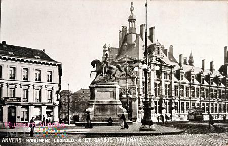 Belgia Antwerpia Król Léopold I