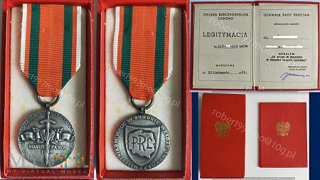 """Medal """" Za Udział w Walkach w Obronie Władzy Ludow"""