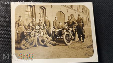 Mieliśmy w Armii i motocykle II RP 1935 rok