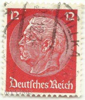 Hindenburg DEUTSCHES REICH 12 Pfennig Pillkallen