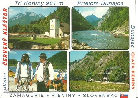 Spływ Dunajcem.