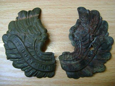 Skrzydła orła z pickelhaube