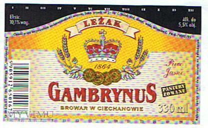 Duże zdjęcie leżak gambrynus