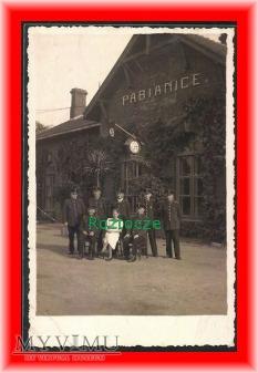 PABIANICE, Dworzec kolejowy