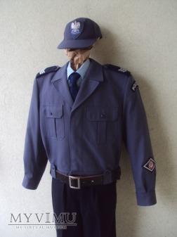 Mundur służbowy sierżanta sztabowego policji