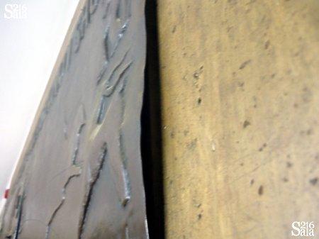 Relief nad salą 216 w budynku WIG