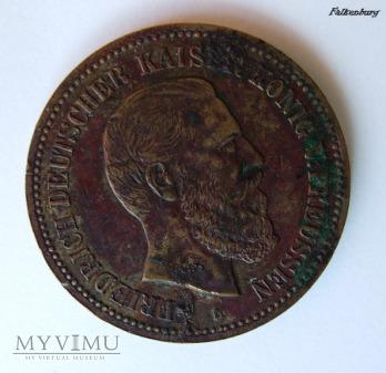 Medal FRIEDRICH DEUTSCHER KAISER KONIG V. PREUSSEN