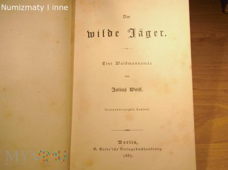 książka niemiecka 1887 r