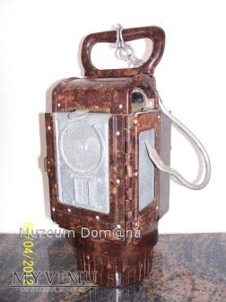 BAKELITOWA LAMPA WH/ SS - model 37
