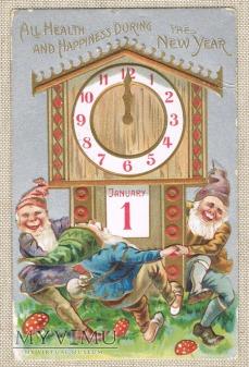 26.12.1908 Nowy Rok i tańczące gnomy wokół zegara