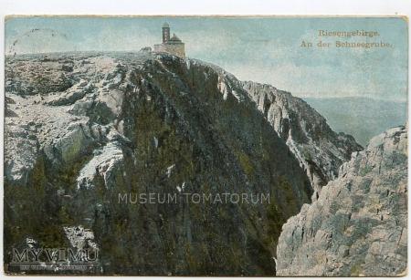 Karkonosze Śnieżne Kotły Schneegrube 1910