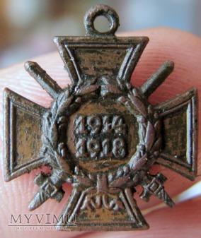 Krzyża Honoru 1914-1918 z mieczami / mały
