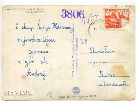 Karkonosze - schr. Bronka Czecha,1962