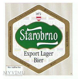 starobrno export lager bier