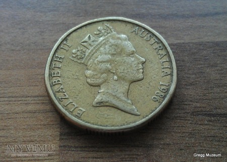 1 DOLLAR-AUSTRALIA 1986
