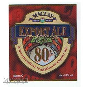 BELHAVEN 80/- exprt ale