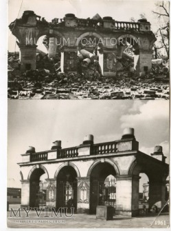 W-wa - Pałac Saski - 1945/1961