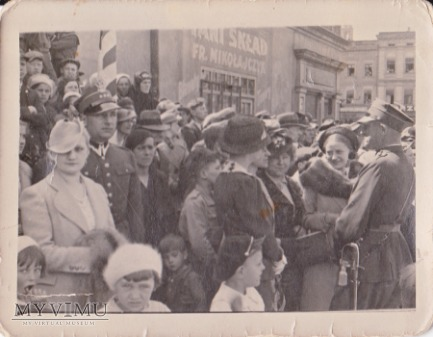 Fotografia oficerów 56 Pułku Piechoty Wlkp.