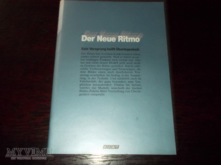 Prospekt FIAT RITMO