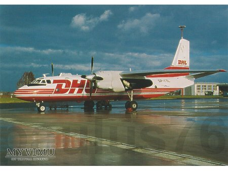 An-26B, SP-FTL, DHL/EXIN