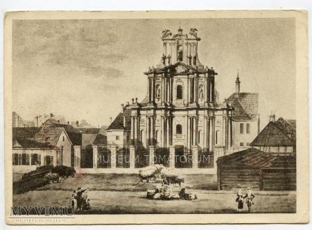 W-wa - Kościół Wizytek - 1785