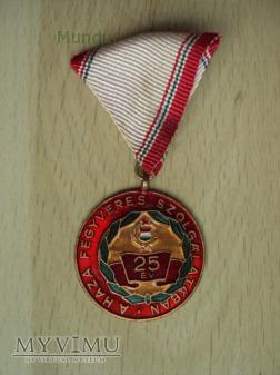 Medal: A haza fegyveres szolgálatában 25 év
