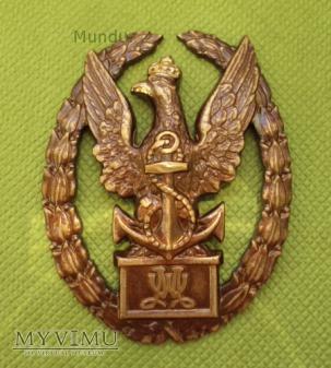 """Duże zdjęcie Odznaka """"Wzorowy Marynarz"""" - Mennica Państwowa"""
