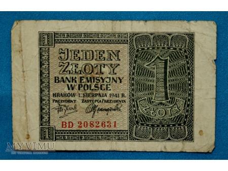 1 Złoty 1941
