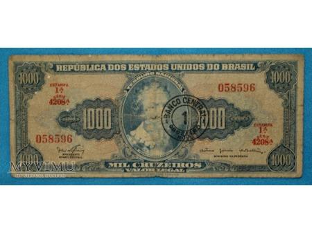 1000 Cruzeiros 1966