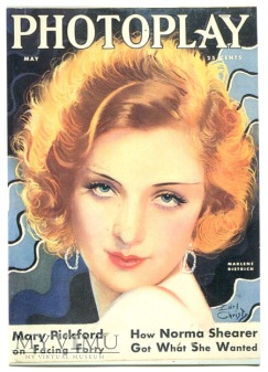 Marlene Dietrich Photoplay Pocztówka Earl Christy