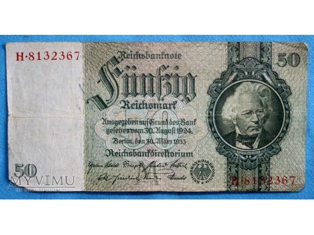 50 Reichsmark 1933