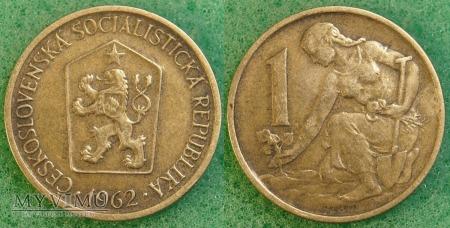 Czechosłowacja, 1 koruna 1962