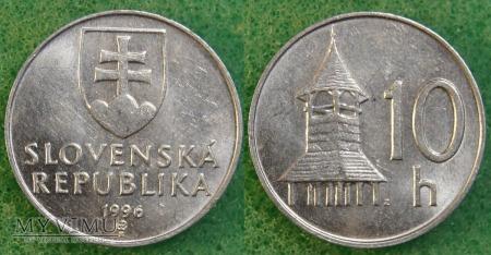 Słowacja, 10 Halierov 1996