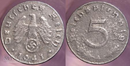 Niemcy, 1941, 5 Reichspfennig