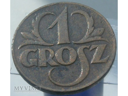 1 Grosz, 1923 rok.