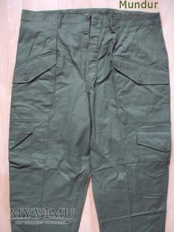 Szwecja: mundur polowy - spodnie