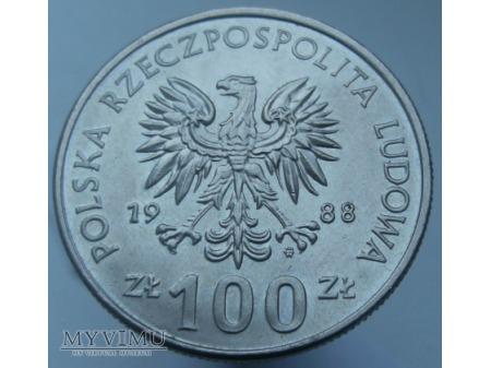 70 Rocznica Powstania Wielkopolskiego,100 zł,1988r