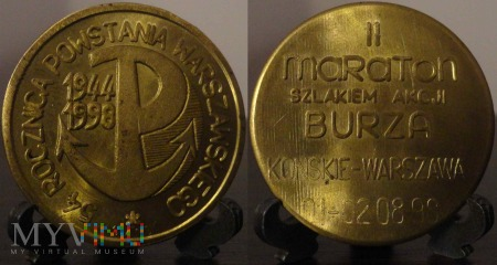 Duże zdjęcie 211. 54 rocznica Powstania Warszawskiego 1944-1998