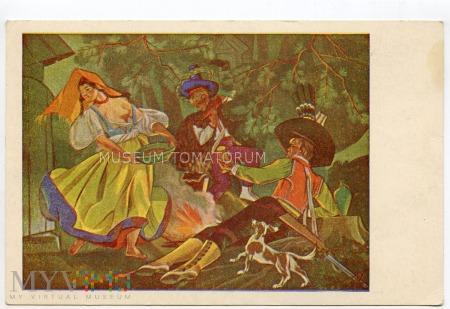 Stryjeńska - Wieczerza w lesie - lata 50-te