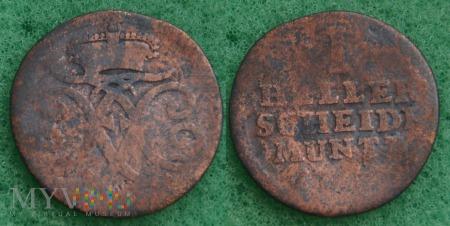 Niemcy, 1760, 1 Heller