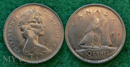 Kanada, 10 CENTS 1976