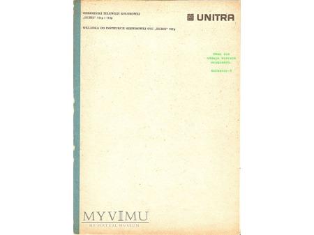 Instrukcja serwisowa telewizora RUBIN 711, 714p