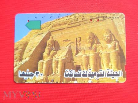Duże zdjęcie Karta z Egiptu (2)