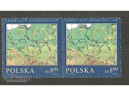 Mapa z atlasu.