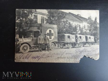 Duże zdjęcie Ambulanse I wojny