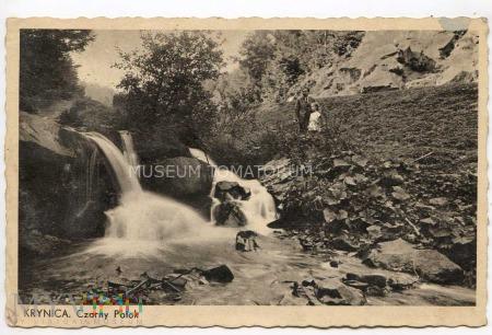 Krynica - Wodospad w Czarnym Potoku - lata 30-te