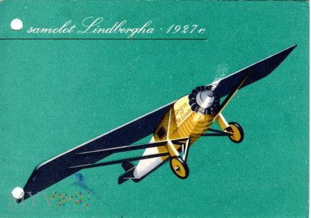 samolot Lindbergha 1927 r.