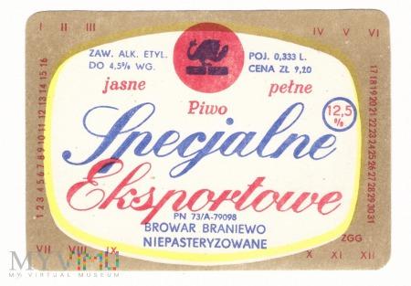 Braniewo, Specjalne Eksportowe